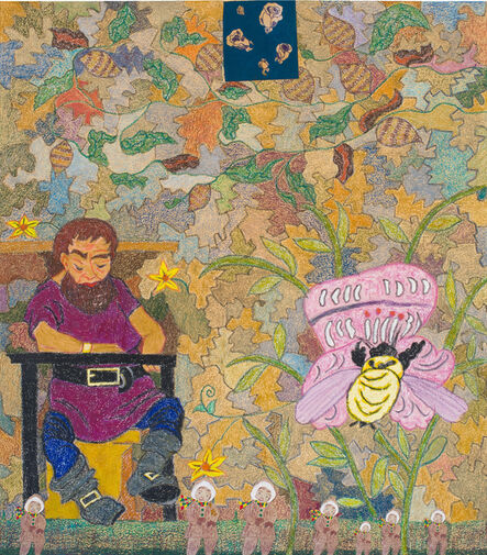 Joyce Kozloff, 'The Giant and the Bumblebee', 2017
