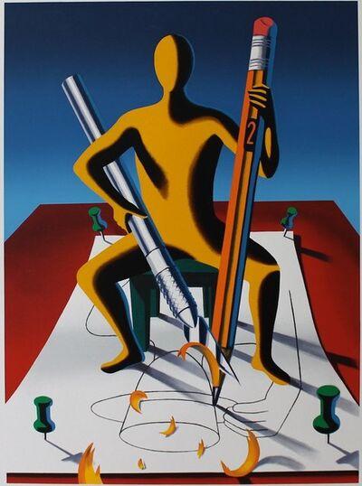 Mark Kostabi, 'Careful With That Ax Eugene', 2001