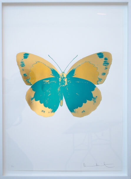 Damien Hirst, 'The Souls II - Turquoise - Cool Gold - Oriental Gold', 2010