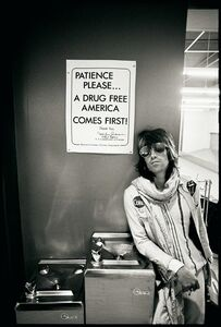 "Ethan Russell, 'Keith Richards ""Patience Please"", 1972, Rolling Stones, Black and White, Photographic Print, Portrait', 1972"