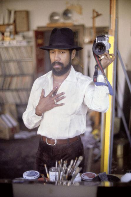 Barkley L. Hendricks, 'Self-Portrait with Black Hat ', 1980-2013