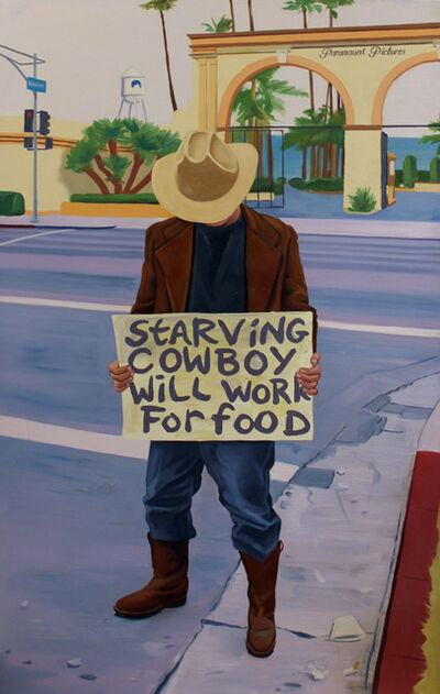 Gregg Gibbs, 'Starving Cowboy Will Work for Food', 2001