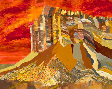Ryan Molenkamp, 'Cliffs Near Capitol Gorge', 2016