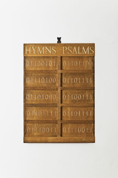 Oliver Clegg, 'Hymn Board', 2013
