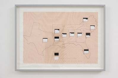 KP Brehmer, 'Flags for the States, 1876/1868', 1976