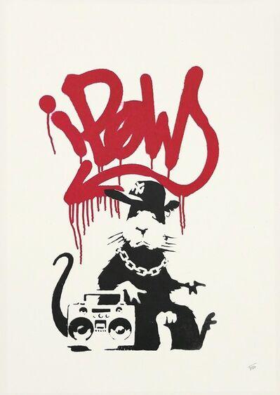 Banksy, 'Gangsta Rat (Signed)', 2004