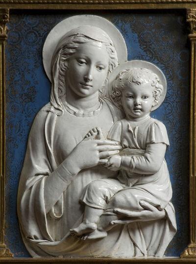Luca della Robbia, 'Madonna and Child', 1441-1445
