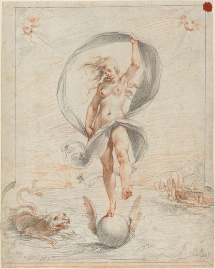 Giuseppe Cesari, called Cavaliere d'Arpino, 'Allegorical Figure', probably c. 1588
