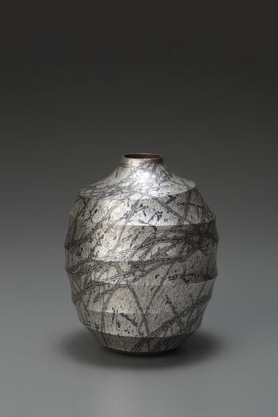 Sako Ryuhei, 'Mokume-gane Vase', 2013
