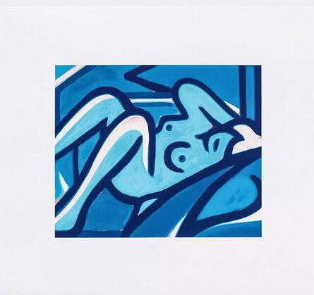 Tom Wesselmann, 'Blue Nude', 2001