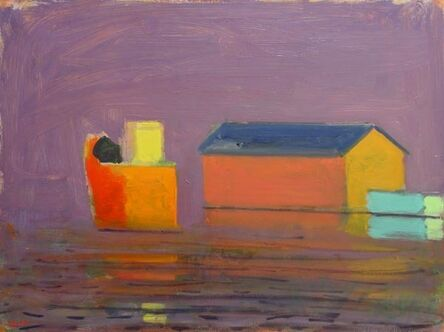Paul Resika, 'Provincetown Pier, Lavender Day', 1998