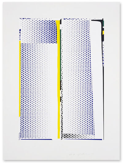 Roy Lichtenstein, 'Mirror #9', 1972