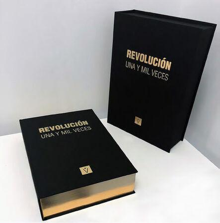 Reynier Leyva Novo, 'A Thousand and One Times Revolution (Golden Edition)', 2017