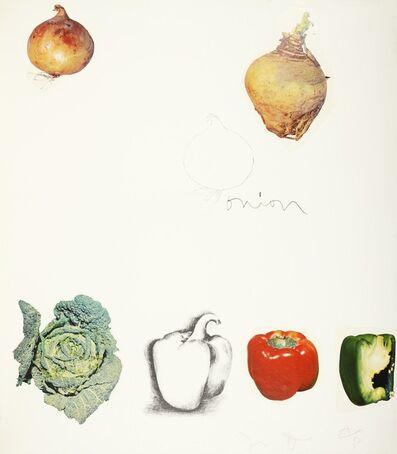 Jim Dine, 'Jim Dine, Vegetables, 1970', 1970