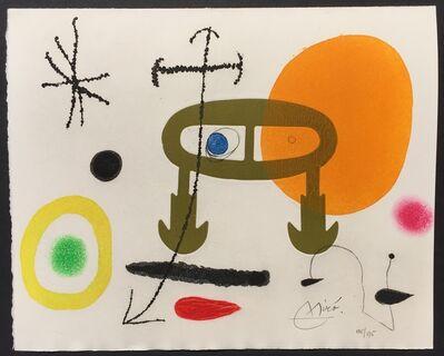Joan Miró, 'Je n'ai jamais appris a lire ou Les Incipits', 1969