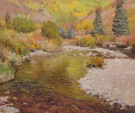 John Taft, 'Reflections on Gore Creek', 2019