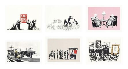 Banksy, 'The Barely Legal Set', 2006