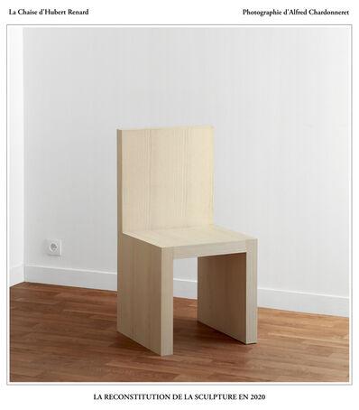 Hubert Renard, 'La Chaise d'Hubert Renard : la reconstitution de la sculpture en 2020', 2020