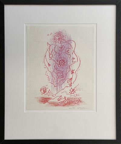 André Masson, 'Untitled (Illustration of a Love Poem)', 1974