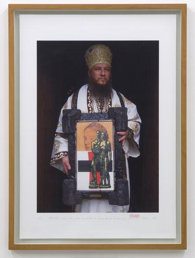 IRWIN, 'Procession (Bischop Metodij Zlatanov holding an Irwin – Icon: Malevich between two wars) Irwin (DušanMandič)', 2006