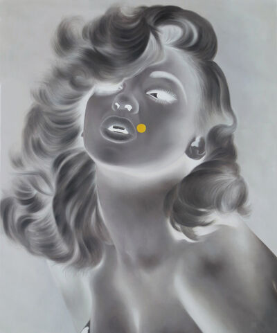 Tim Sullivan, 'White Shadow (Jayne with Yellow Dot)', 2014