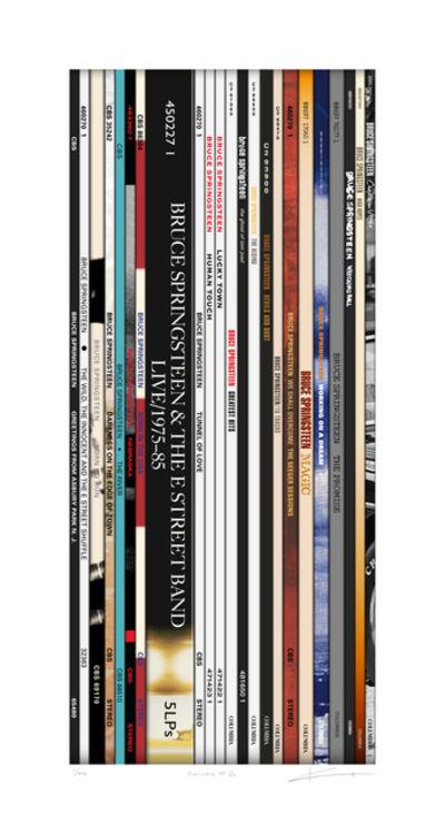 Keith Haynes, 'Spines #6 - Bruce Springsteen', N/A