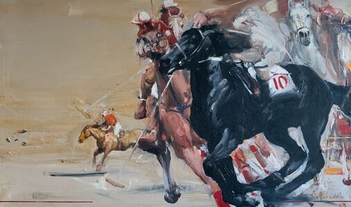 Shahabuddin Ahmed, 'Polo', 1993