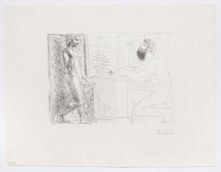 Pablo Picasso, 'Sculpteur et son Modèle devant une Fenêtre', 1933