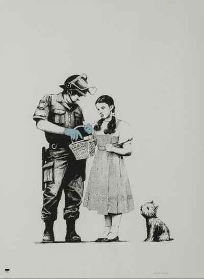 Banksy, 'Stop & Search (Signed)', 2007