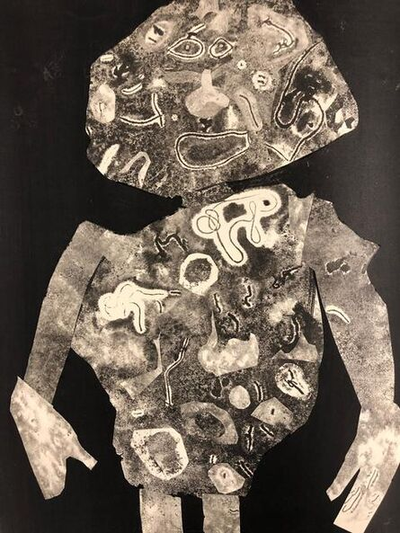 Jean Dubuffet, 'Personnage 1955 II', 1956