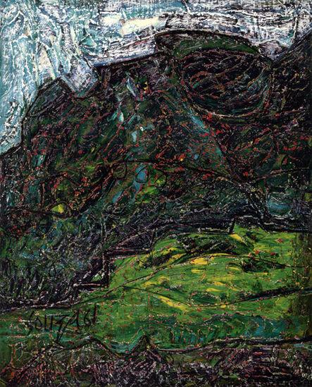 Francis Newton Souza, 'Landscape (Green Shrub)', 1961