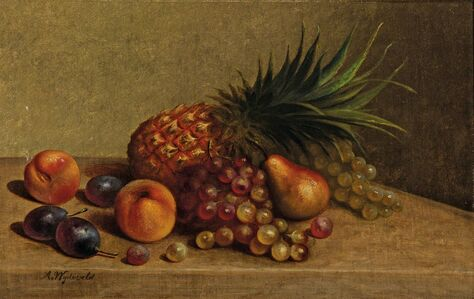 Arnoud Wydeveld, 'Still Life with Pineapple and Other Fruits'