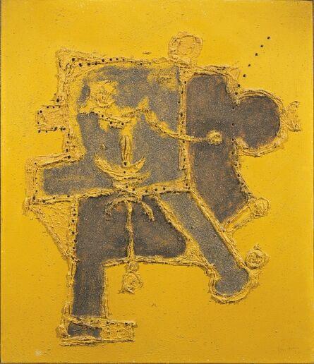 Lucio Fontana, 'Concetto spaziale', 1956