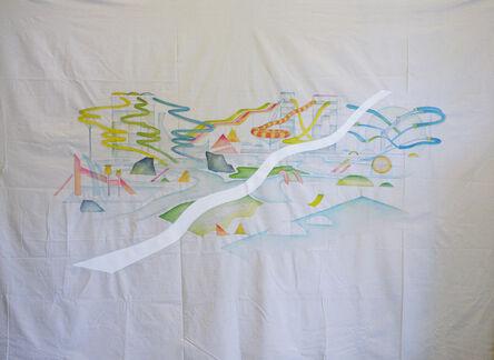 Tzu-Ting Wang, 'Sleep in the belly of ocean ', 2014