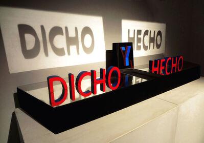 Xavo (Javier Baliña), 'Dicho y hecho', 2017
