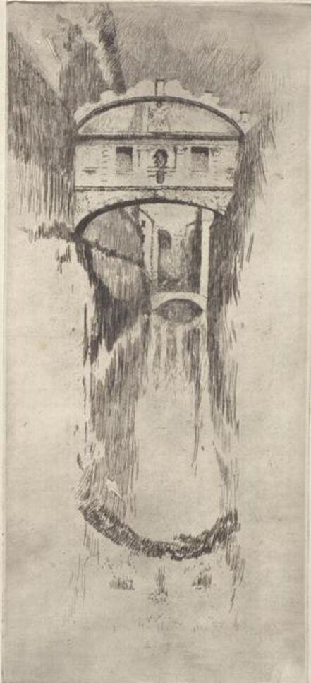 Otto Henry Bacher, 'Ponto Sospiri', 1881