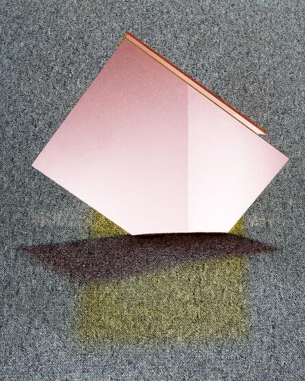 Oran Hoffmann, 'Objektiv: Grey Carpet, Plexiglass (Yellow and Red)', 2014