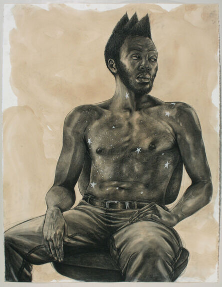 Robert Pruitt, 'Untitled (Male Celestial Body)', 2016