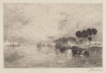 Thomas Moran, 'Morning on the St. Johns, Florida', 1886