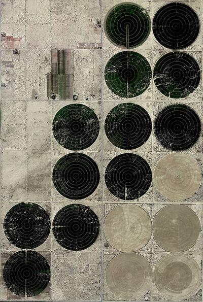 Sergen Şehitoğlu, 'Mojave Dessert Series - Circular Field #1', 2018