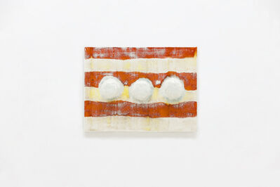 Lee Hun Chung, 'Tile with 3 hooks', 2016