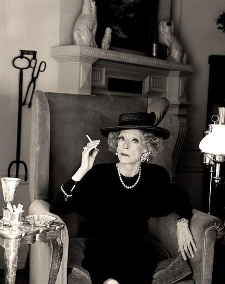 Greg Gorman, 'Bette Davis, Los Angeles', 1988