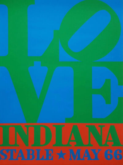 Robert Indiana, 'LOVE (Hand Signed by Robert Indiana)', 1966
