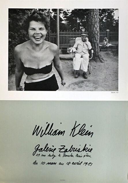 William Klein, 'Bikini, Moscow exhibit poster (Paris, 1981)', 1981