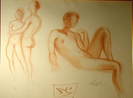 Salvador Dalí, 'Nudes Couples Nus', 1970