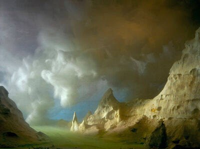 Kim Keever, 'Turtle Skull Rock', 2001