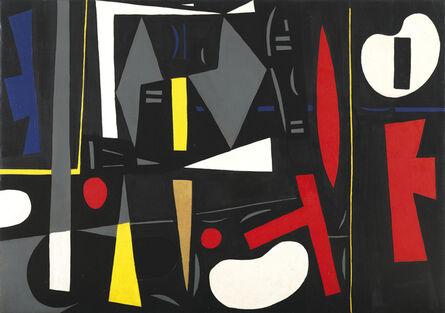 Caziel, 'WC146 - Architectonic Composition', 1952-1953