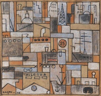 Héctor Ragni, 'Constructivo', 1935