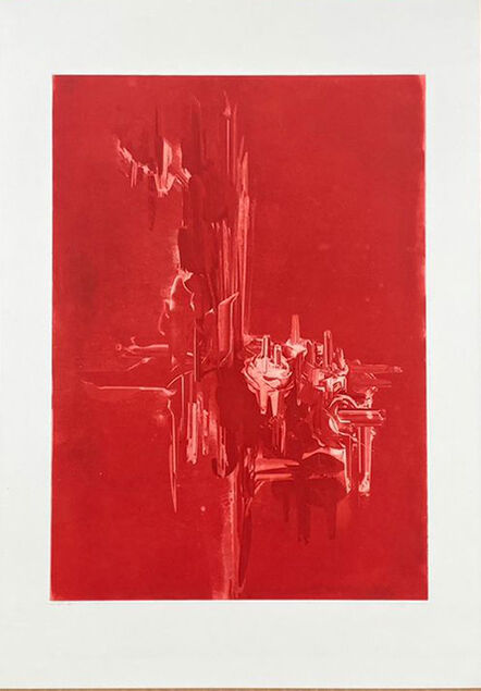 Alexis Mata, 'Feeling Red', 2021