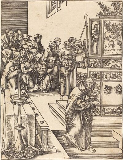Lucas Cranach the Elder, 'Saint John the Evangelist'